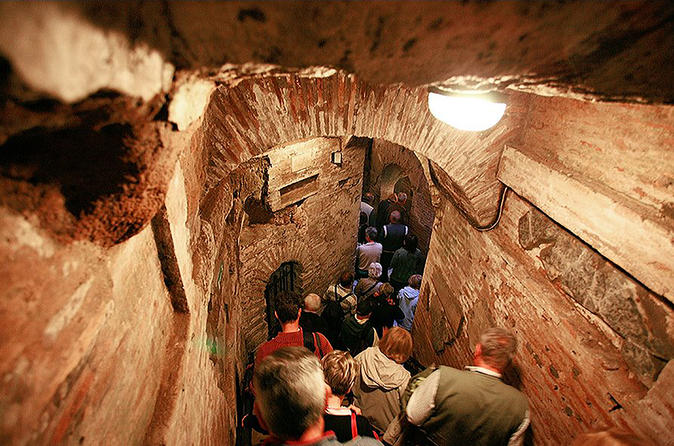 Rome In One Day: Colosseum And Catacombs Tour With Skip The Line