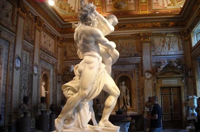 Skip the Line: Borghese Gallery and Gardens Small-Group Tour with Transport