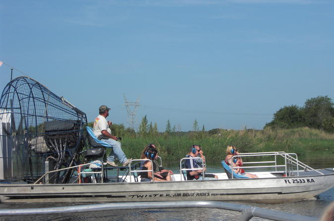 Florida airboat adventure in orlando 136323