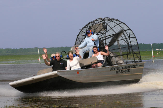 Florida Everglades Swamp Tour and Airboat Ride from Orlando