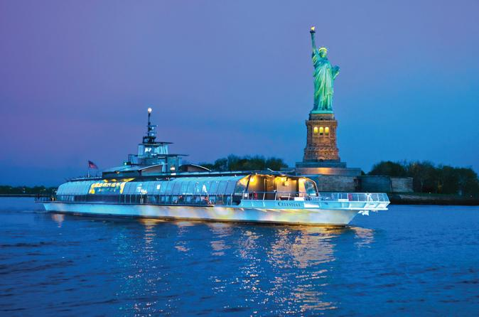Bateaux new york dinner cruise with photos new york city for Best places to go in nyc at night