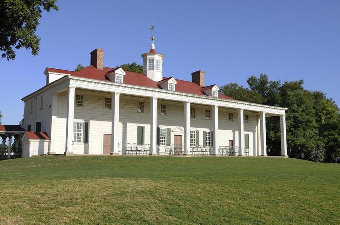 Nos passos de George Washington: Cruzeiro Spirit de um dia até o Mount Vernon