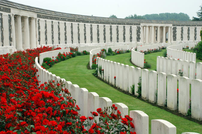 Private Day Trip from Paris: Tour of the Ypres Salient WWI Battlefield in Belgian Flanders