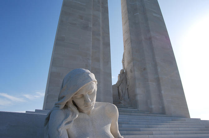 Small-Group Day Trip to Arras and Vimy Ridge WW1 Battlefields from Paris