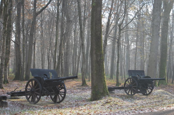 Small-Group WWI Day Trip from Paris: Aisne-Marne Battlefields, Belleau Wood and Museum of the Great War