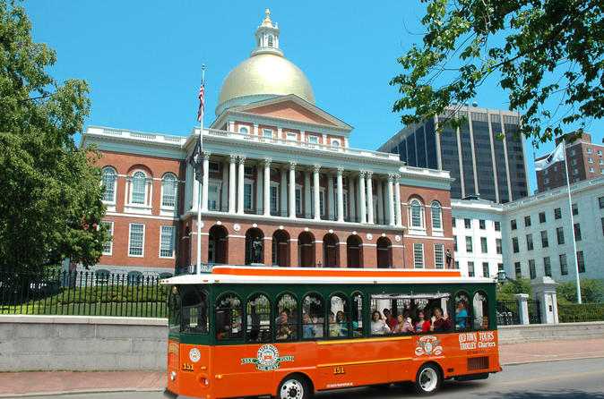 Boston hop on hop off trolley tour in boston 628241