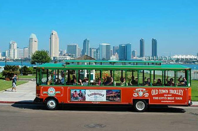 San diego tour hop on hop off trolley in san diego 41707