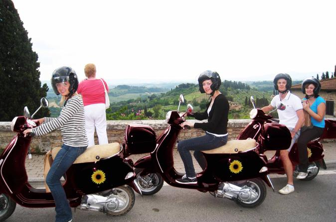 Vespa small group day trip to the chianti wine region in florence 41543