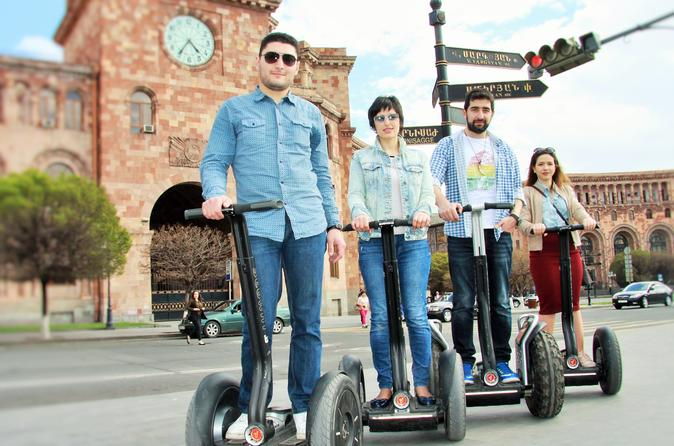Group Tour on Segways in the Center of Yerevan