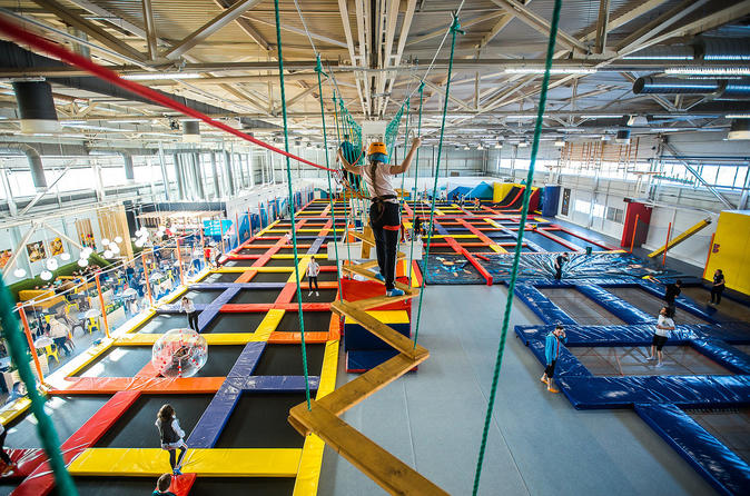 Admission ticket  to the Trampoline Center Nebo