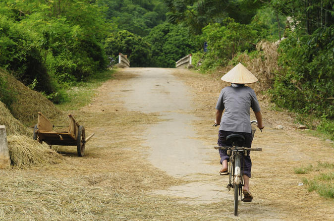 Quang Dien Village Bike Tour Including Sampan Cruise