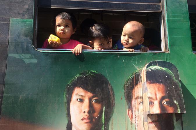 Yangon mit dem Circular Train