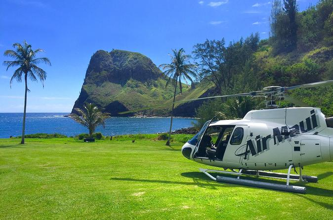 West Maui & Molokai Helicopter Tour with Oceanfront Landing