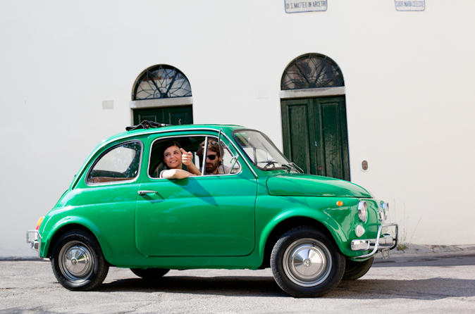 Self drive vintage fiat 500 tour from florence tuscan hills and in florence 117153