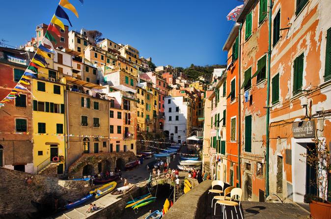 Viagem de um dia com trekking em Cinque Terre com saída de Florença