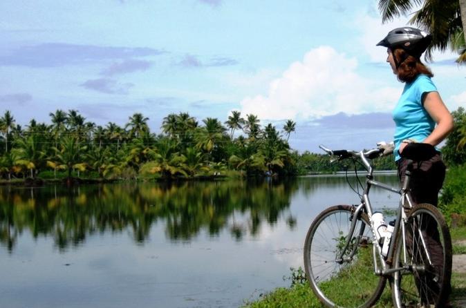 Kochi Bike Tour and Backwaters Cruise