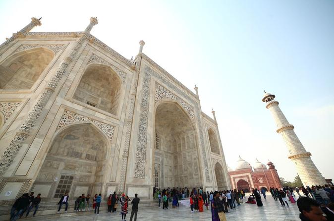 Small Group Day Trip From Delhi To Agra Including Entrance To Taj Mahal And Agra Fort