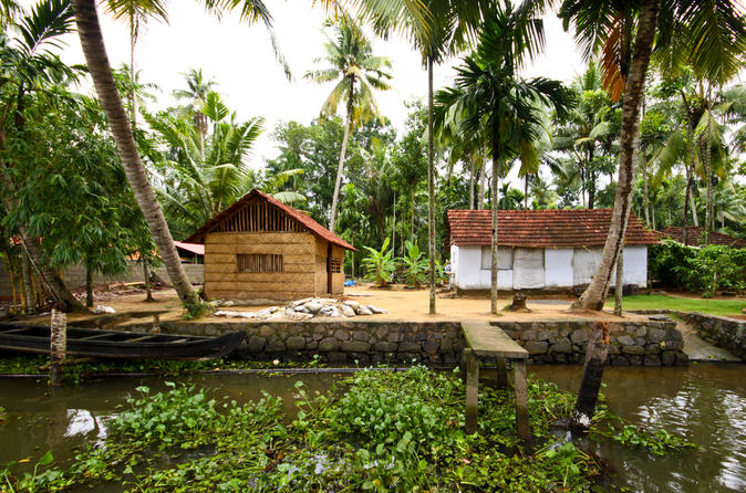 Small-Group Kerala Backwaters Tour from Kochi Including Ayurvedic Massage