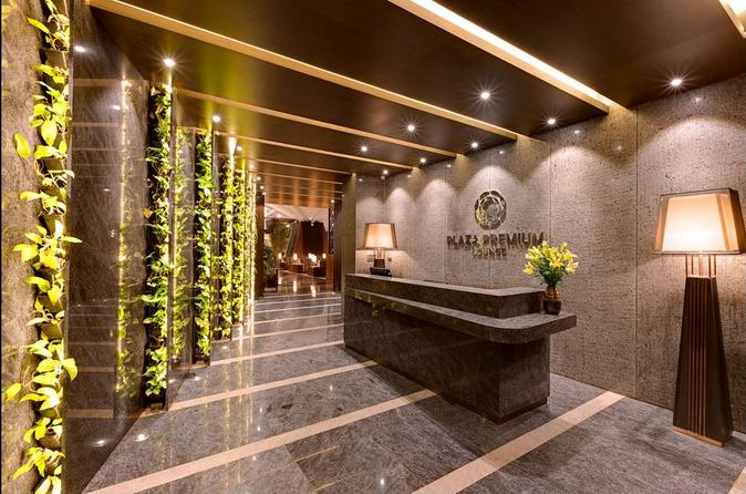 Bangalore Bengaluru Kempegowda International Airport Plaza Premium Lounge