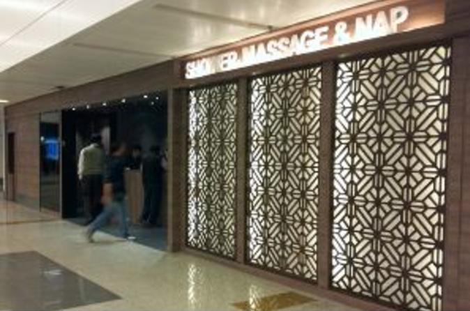 Gandhi International Airport Plaza Premium Lounge (Arrivals)
