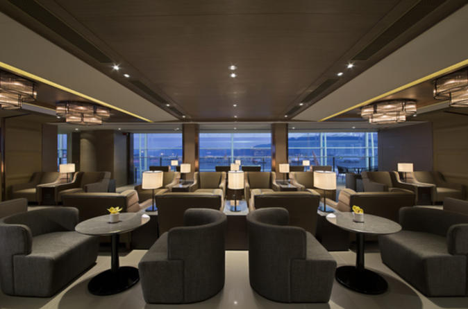 Hong Kong International Airport Plaza Premium Lounge