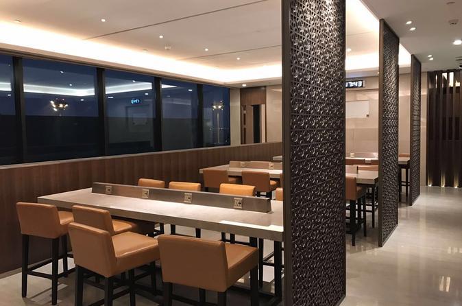 Shanghai Pudong or Hongqiao International Airport Lounge