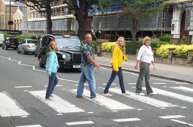 Excursão para grupos pequenos Lendas do Rock de Londres por minivan