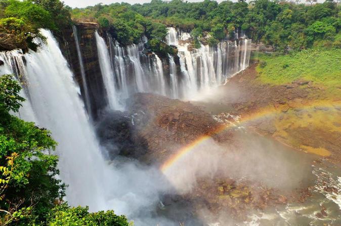 Angola Interior Tour: Calandula Falls - Black Rocks - Cangandala Park 3 Day Tour