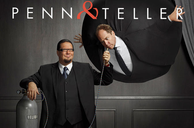 Penn e Teller no Rio Suite Hotel and Casino