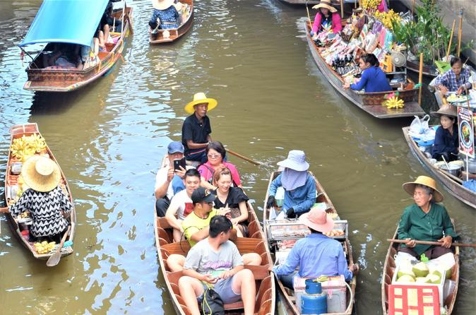 Beyond Bangkok Market Adventure - Railway and Floating Markets Small Group Tour