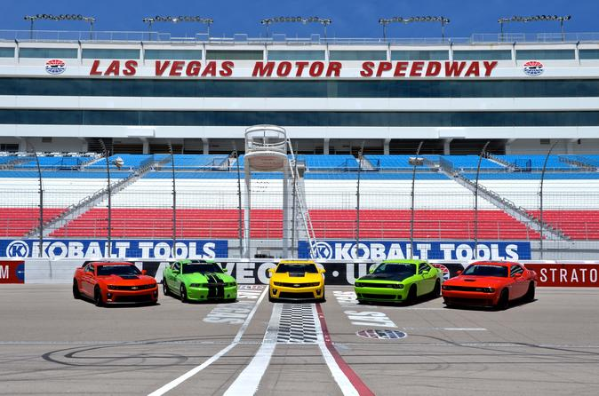 american muscle car challenge at the las vegas motor