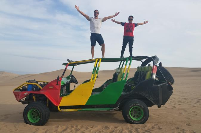 Private full day to Balllestas and Huacachina