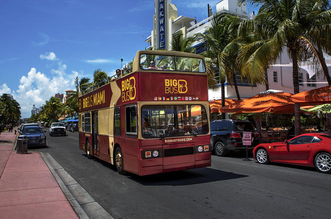 Big bus miami hop on hop off tour in miami 166016