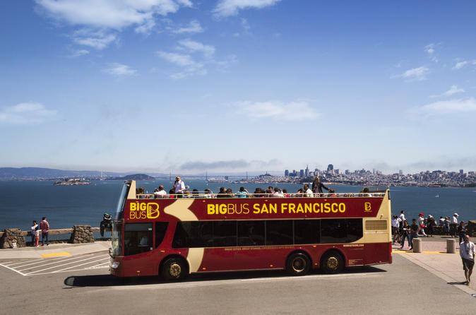 Big bus san francisco sightseeing and alcatraz combo in san francisco 199338