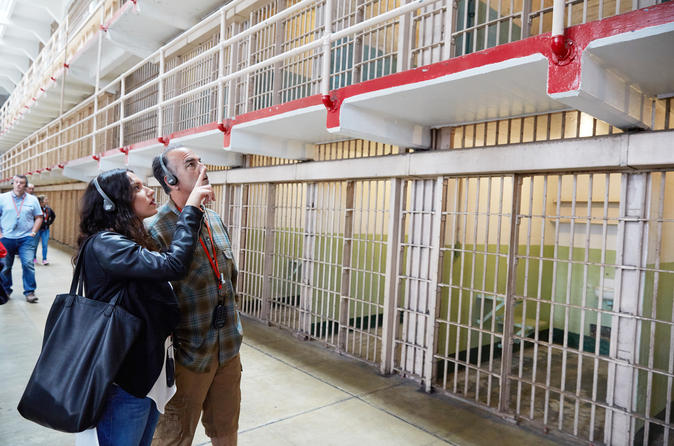 San Francisco and Alcatraz Big Bus Tour with Bike Rental