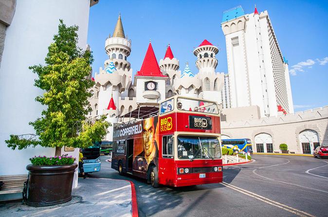 Excursão em ônibus panorâmico Big Bus Las Vegas
