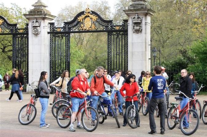 Excursão de bicicleta pelos Parques Reis de Londres, incluindo o Hyde Park