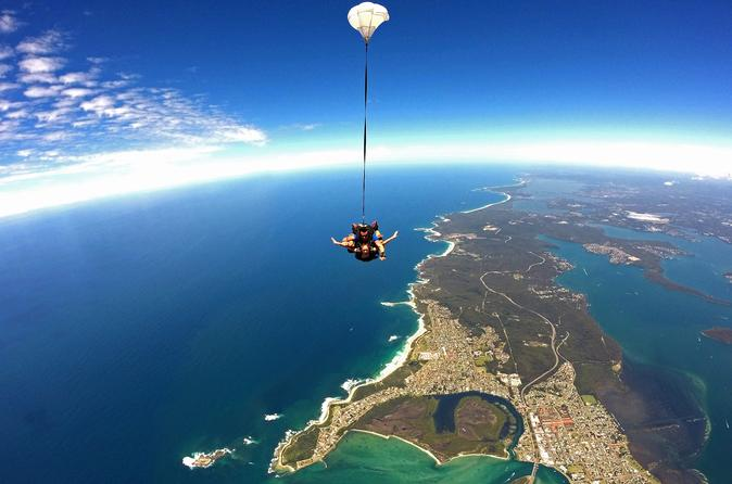Newcastle Tandem Skydive