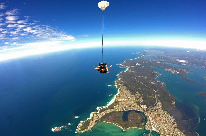 Sydney North Coast Tandem Skydive