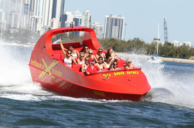 Gold Coast Jet Boat Ride: 55-minutes
