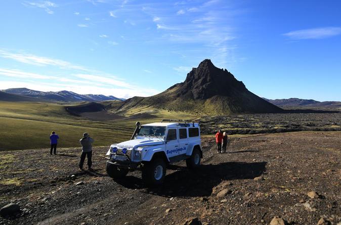 Private Superjeep Landmannalaugar and Hekla Volcano Day Trip