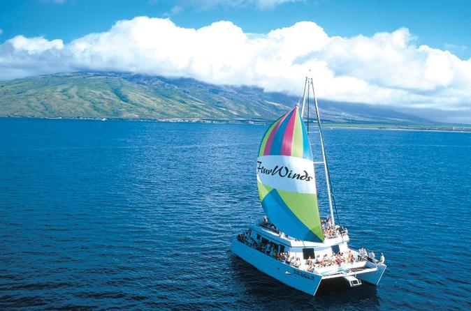 Molokini sail and snorkel adventure in maui 105633