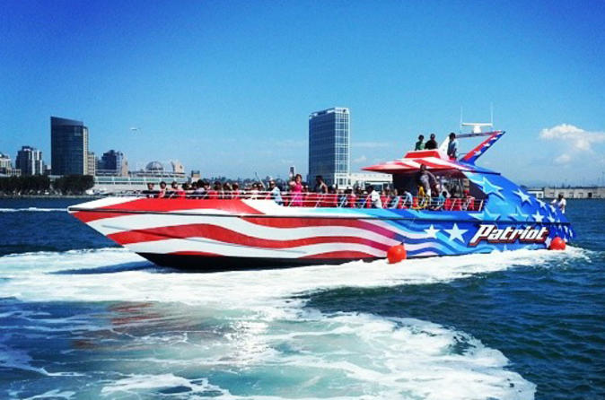 San diego bay jet boat ride in san diego 162317