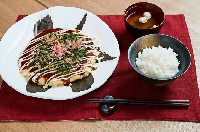 Okonomiyaki Cooking Class in Osaka - Premium