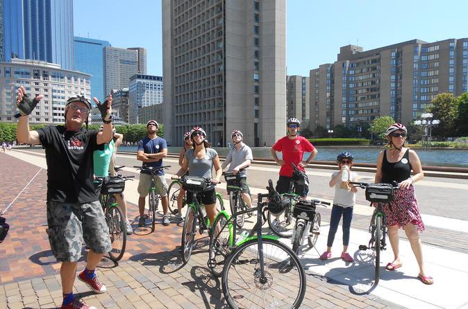 Excursão de bicicleta guiada por Boston