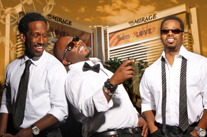 Boyz II Men in het Mirage Hotel en Casino