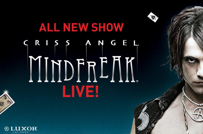 Criss Angel MINDFREAK® LIVE by Cirque du Soleil® at Luxor Las Vegas