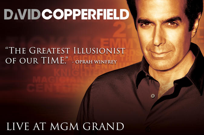 David Copperfield at the MGM Grand Hotel and Casino