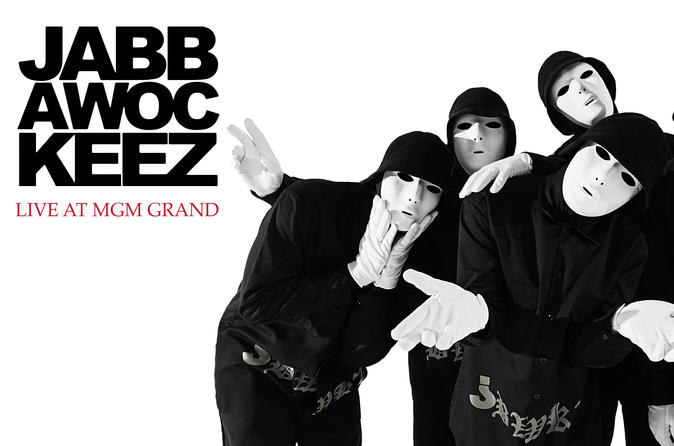 Jabbawockeez no MGM Grand Hotel e Cassino