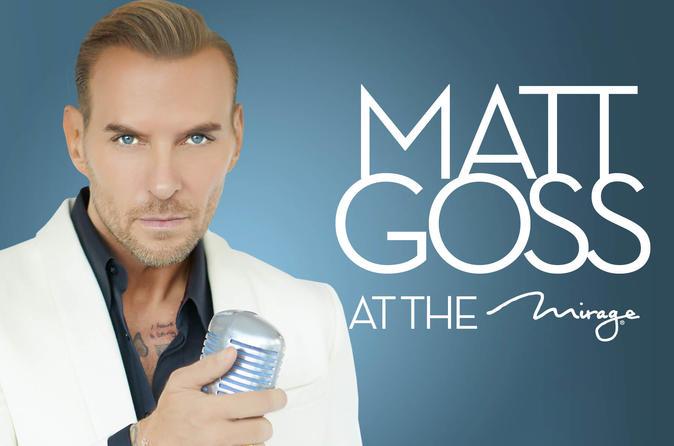 Matt Goss at the Mirage Hotel and Casino Las Vegas